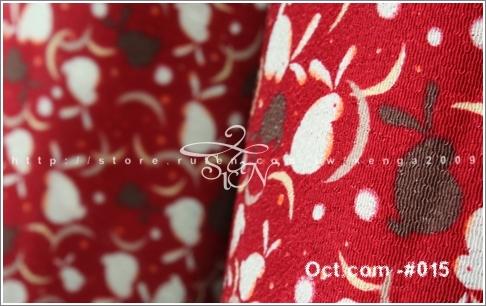 #201010 oct015和綢 月影小兔縐布-紅01.jpg