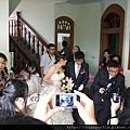 新娘下來了