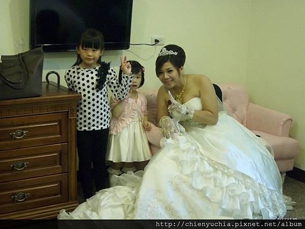 新娘+小孩子