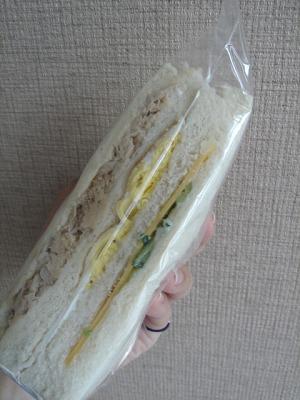 早餐店的サンドイッチ(三明治)♪