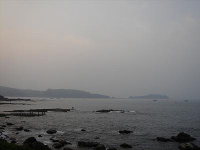 萬里的大海...