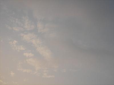 萬里的天空...