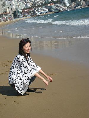 看到海讓我放鬆.....