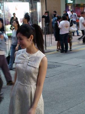 在香港街上