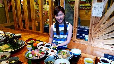 おいしい~~~!宮崎縣的海鮮料理*^0^*