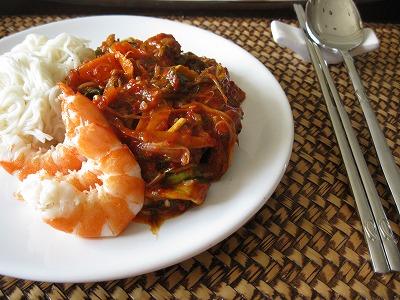我喜歡韓國料理!