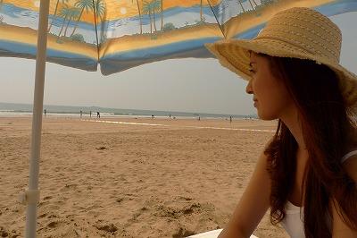 ~很寧靜很廣闊的青島的大海~