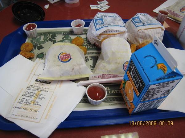 漢堡王早餐