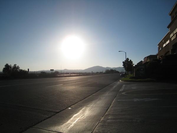 下午Outlet外面景色
