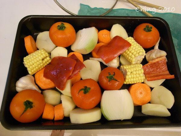 蔬菜排排站