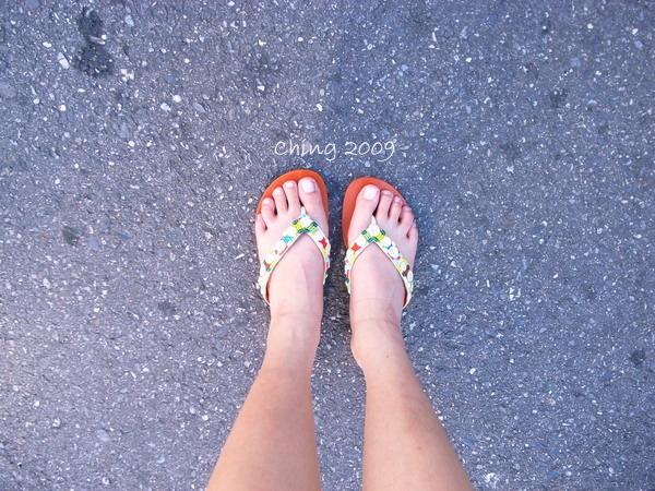 我的腳丫子