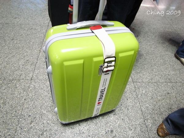 行李箱小草綠