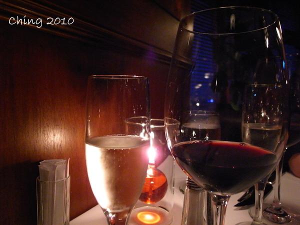 餐前酒+紅酒