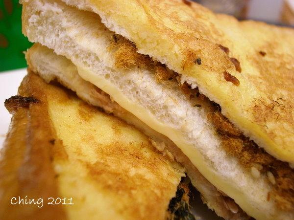 蛋燒三明治