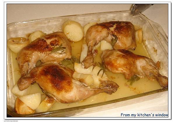 檸檬馬鈴薯烤雞