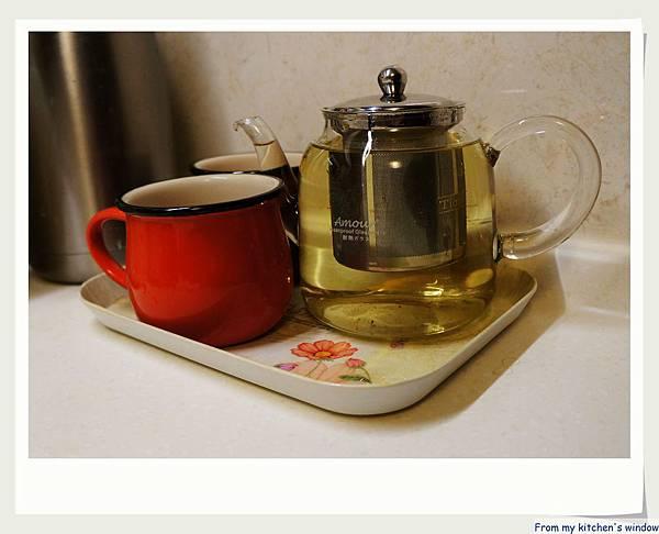 玻璃花茶壼