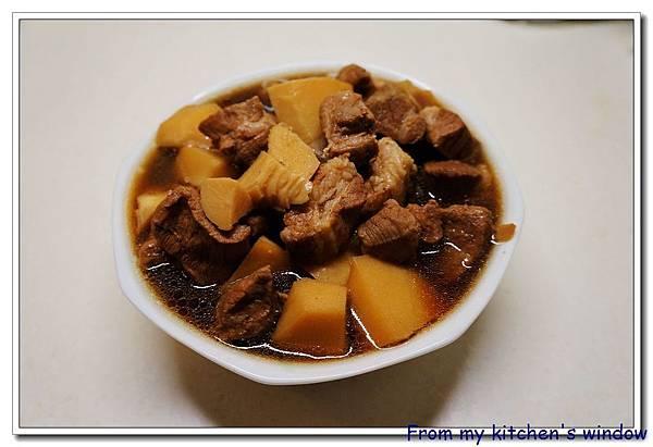 竹筍紅燒豬肉