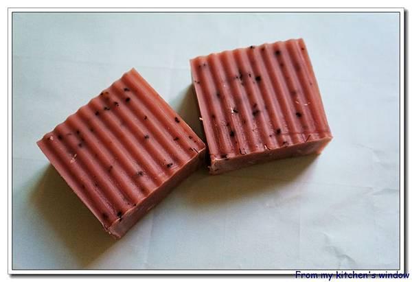 粉紅石泥桂花皂