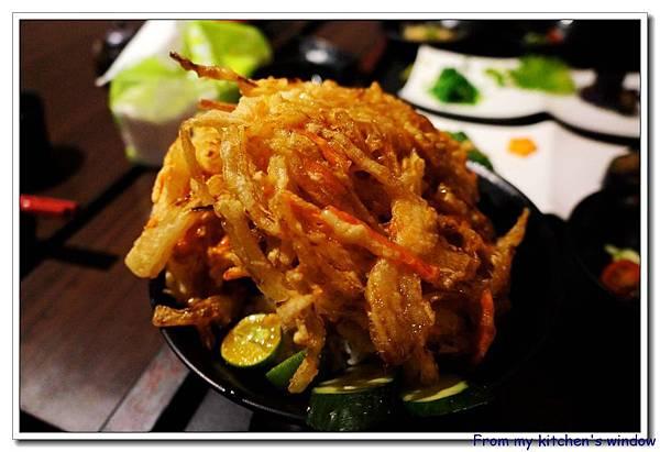鮪魚天婦羅丼