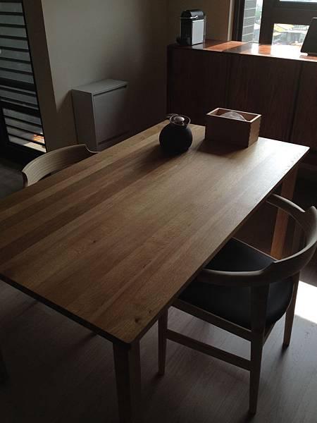 餐桌椅_餐椅PP58 無印良品無垢材餐桌 丹麥邊櫃 @ 小人物的部落格 :: 痞 ...