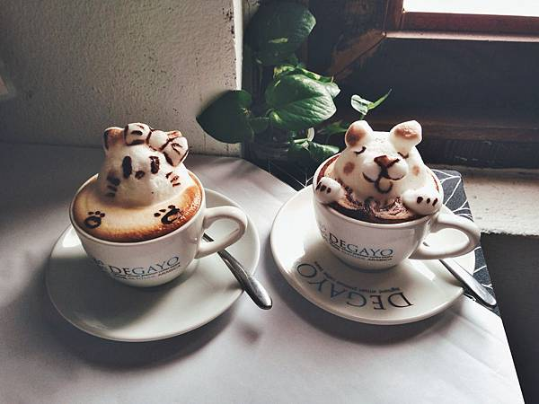 立體拉花咖啡店推薦1