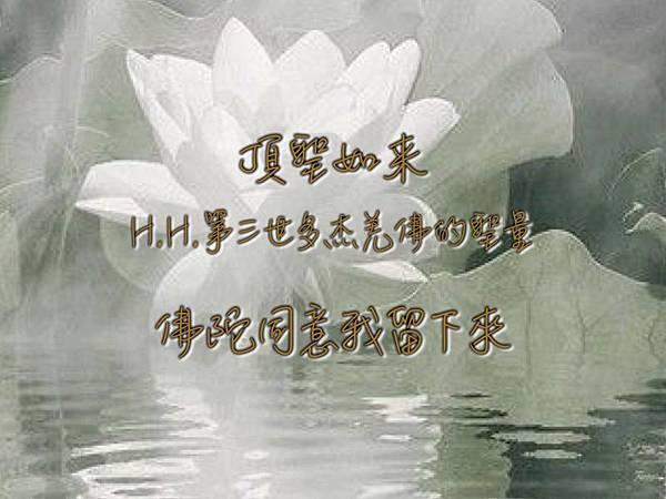 頂聖如来 H.H.第三世多杰羌佛的聖量-佛陀同意我留下來.jpg