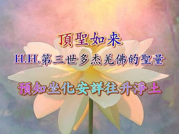 頂聖如来 H.H.第三世多杰羌佛的聖量-預知坐化安詳往升淨土.jpg