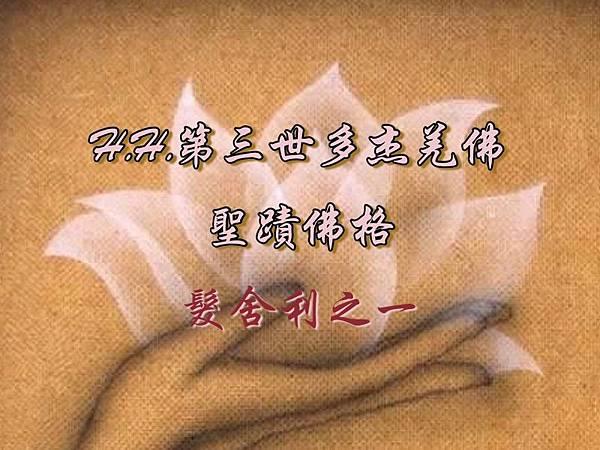 H.H.第三世多杰羌佛的聖蹟佛格-髮舍利之一.jpg