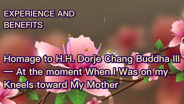 Homage to H.H. Dorje Chang Buddha III— At the moment When I Was on my Kneels toward My Mother.jpg