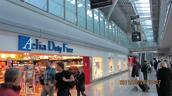 華沙機場免稅商店區