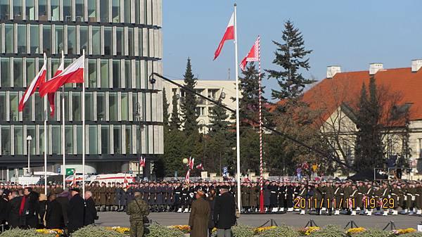 波蘭獨立紀念日在華沙的紀念儀式