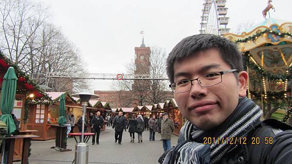 我與柏林聖誕市集