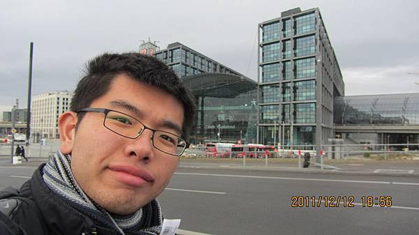我和柏林中央車站