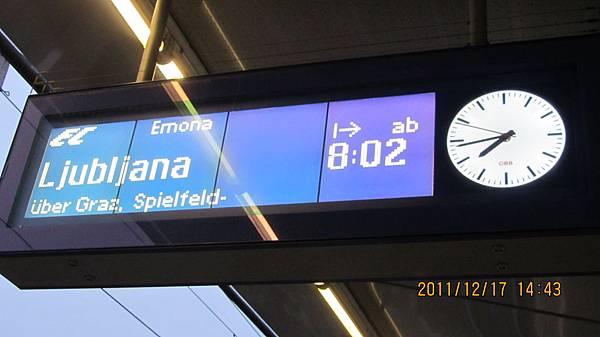 前往斯洛維尼亞!