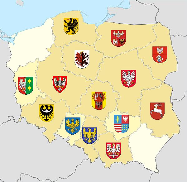 去過的波蘭省分
