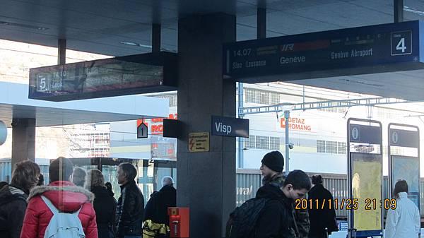 Visp車站