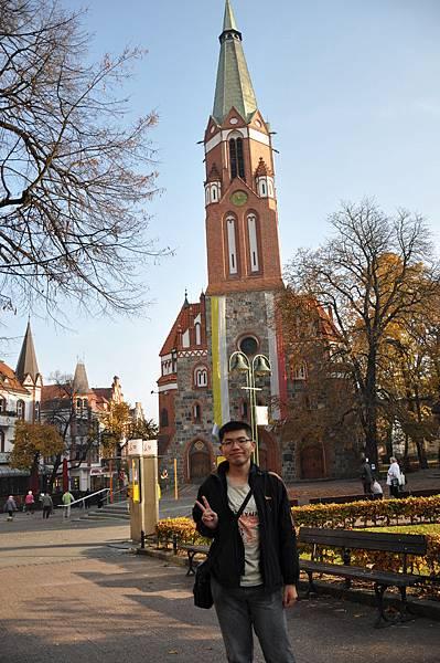 我與Sopot教堂