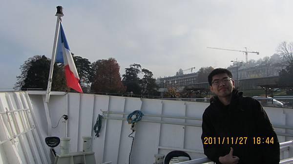 我還在法國,只是已經上船