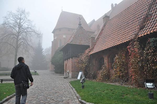 進入Malbork城堡內