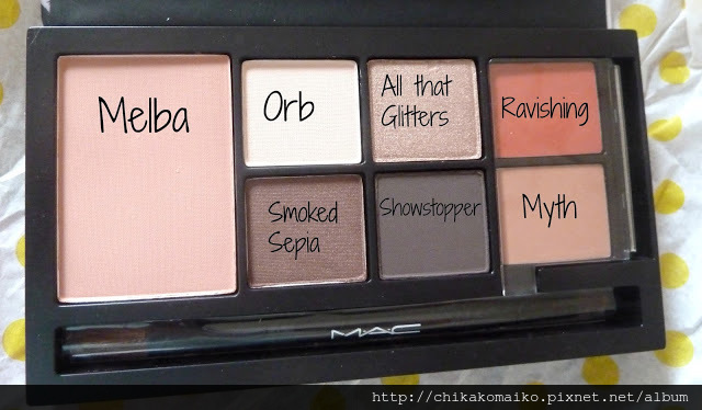 wonderfullyobsessed rebecca moses palette brown with labels