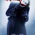 《黑暗騎士》小丑的海報