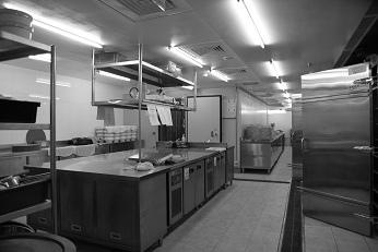 食材清洗製備前處理區