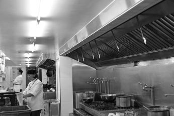 中西餐熱食烹煮區