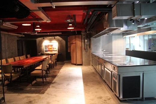 供餐展示區
