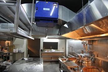 煙罩風管靜電水洗油煙處理環保工程