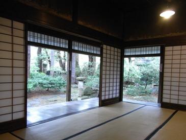 0512角館ー武家屋敷石黒家(庭風景).JPG
