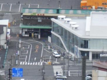 0513稚内ー百年記念塔俯瞰(JR稚内駅).JPG