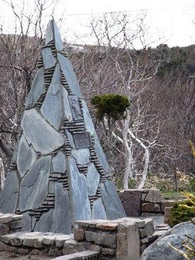 0513稚内公園ー南極観測樺太犬訓練記念碑.JPG