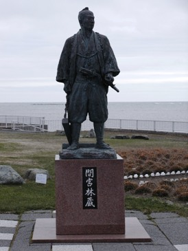 0513稚内ー宗谷岬「間宮林蔵」像.JPG