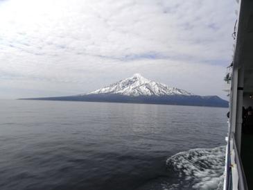 0514フェリーより眺めた利尻富士山.JPG